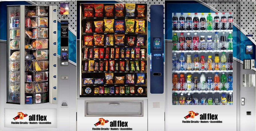 Vending machines in Minneapolis and St. Paul