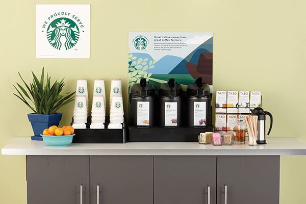 Starbucks coffee for your Minneapolis and St. Paul office